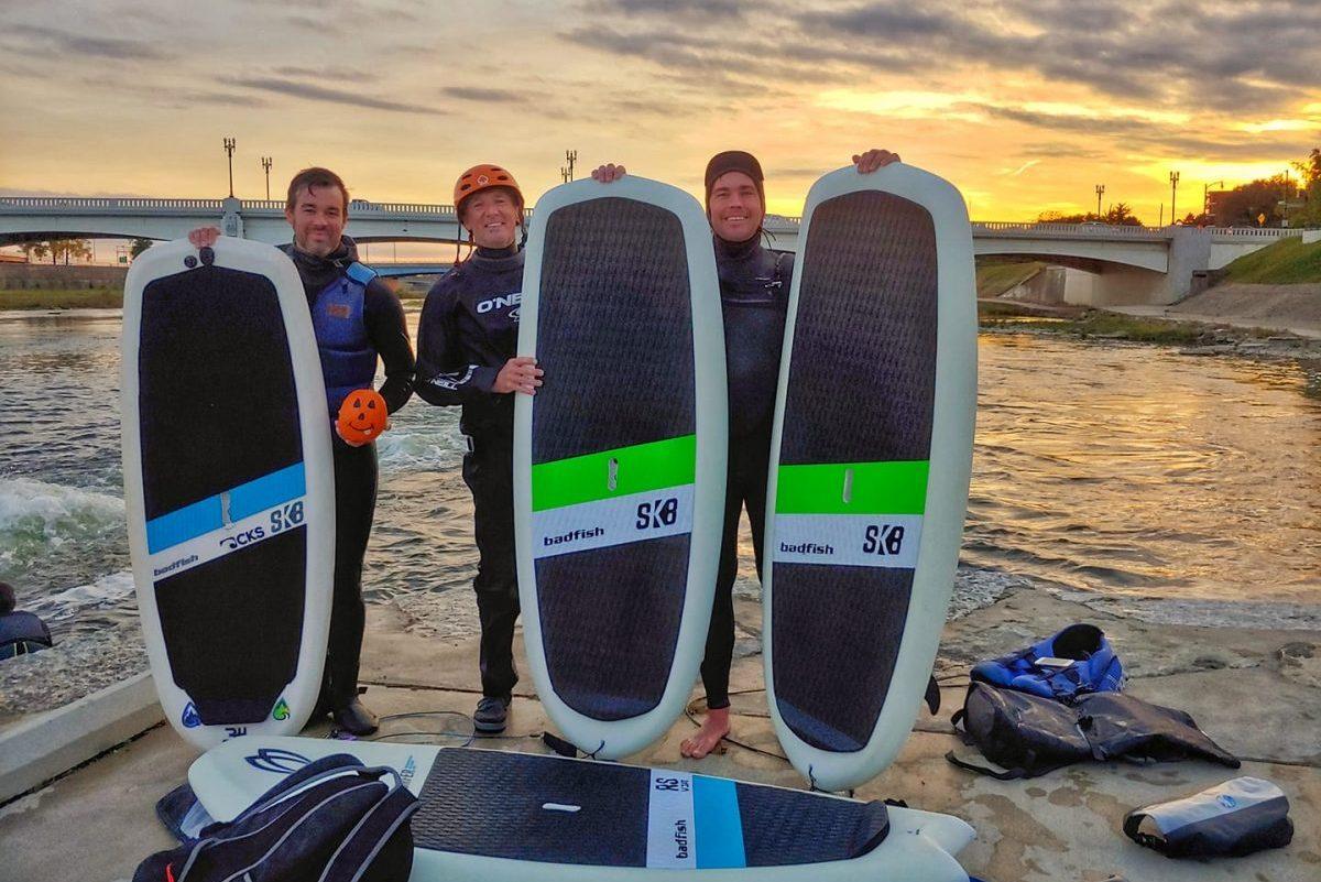 Novice River Surfers Guide