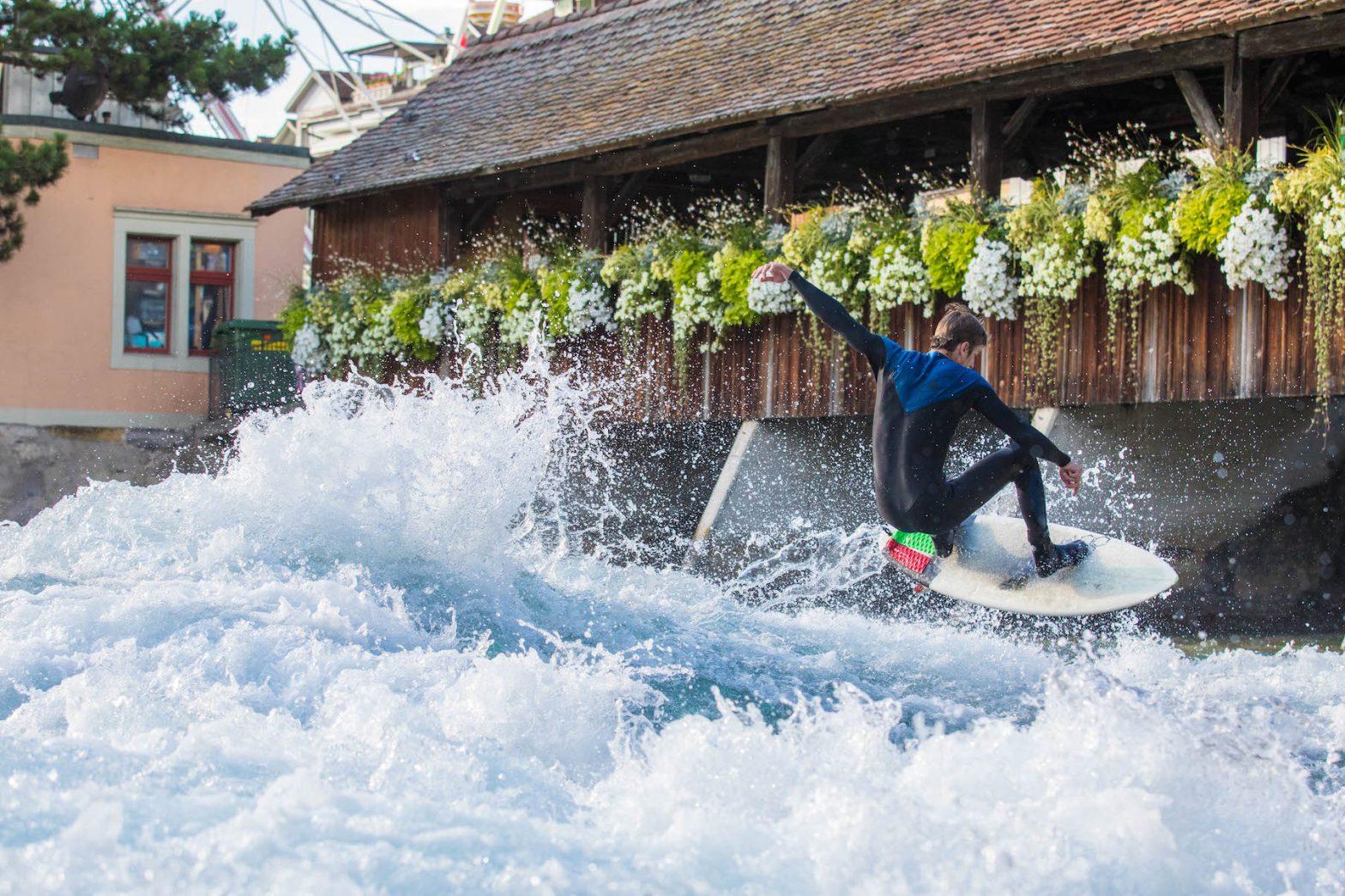 Thun's 2018 River Surf Jam