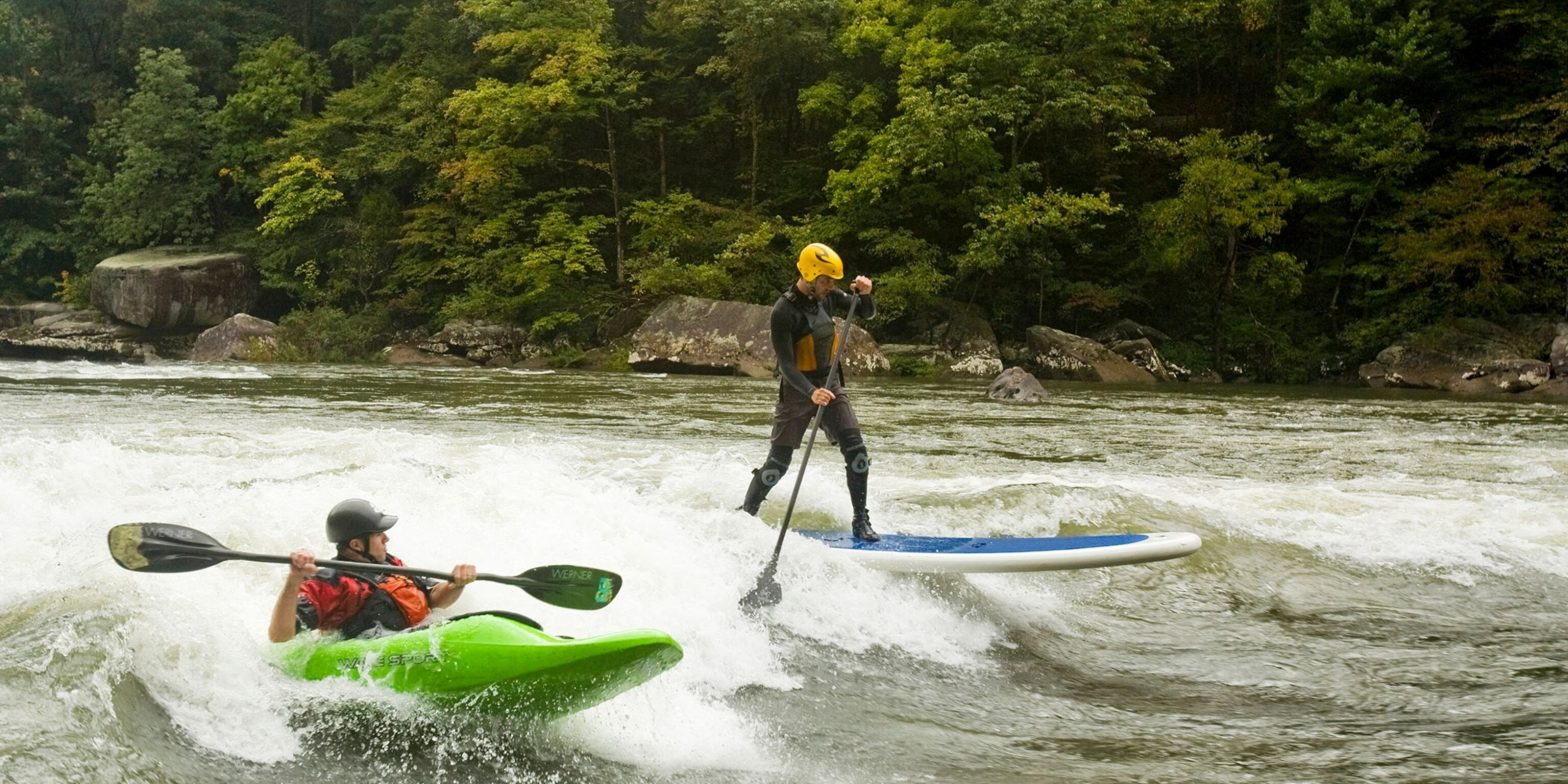 North America's History of River Surfing
